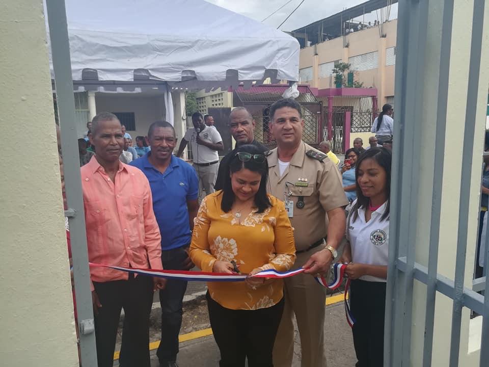 Inauguran nuevo local para Escuela Vocacional Yaguate