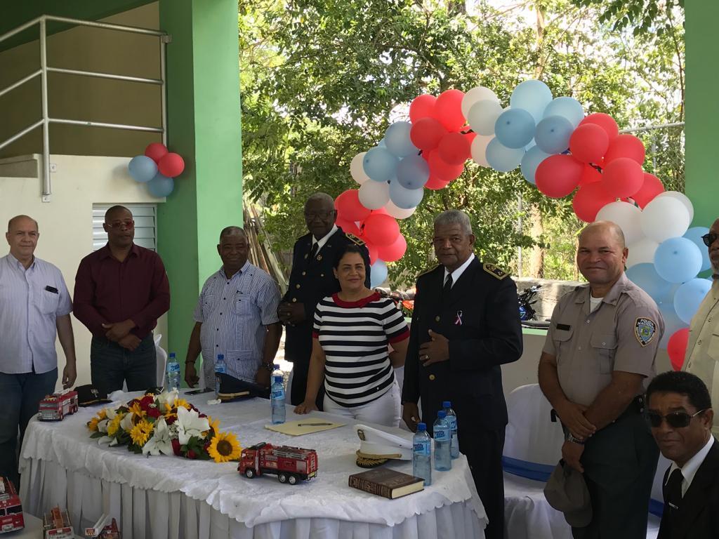 Bomberos de Yaguate festeja fecha de creación