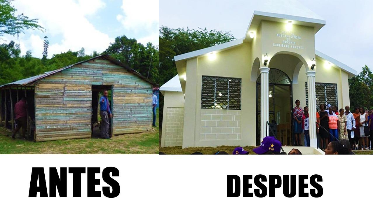 Gloria a Dios!! AMY inaugura iglesia de la Ceiba