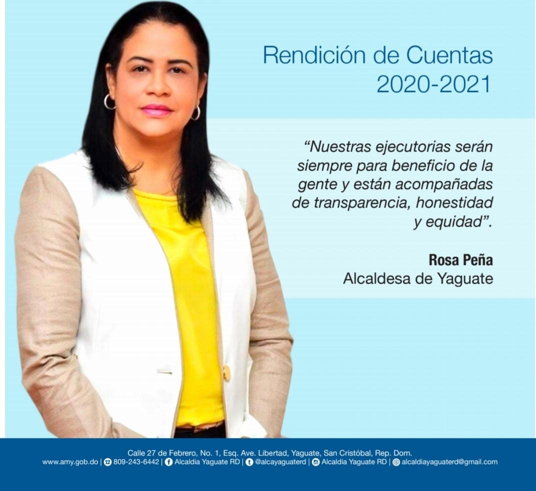 Rendición de cuentas 2020/2021.